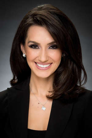 a woman smiling for the camera: Isis Romero is the 10 p.m. anchorwoman on KSAT and …