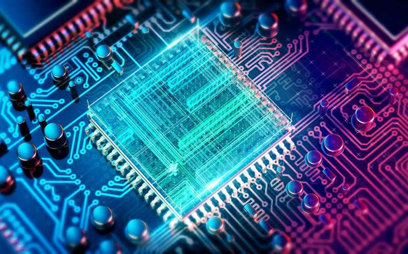 a circuit board: Chip