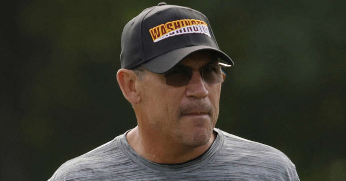 Washington's low COVID-19 vaccination rate has Ron Rivera 'beyond frustrated'