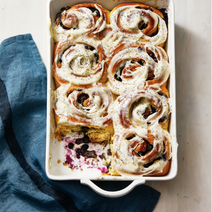 Slide 2 of 41: These ooey, gooey sweet rolls can be prepped the night before and baked right when you wake up. Can you think of a better start to the morning?Get the recipe for Blueberry Sweet Rolls With Lemon »RELATED: 55 Sweet and Savory Brunch Recipes to Make This Weekend