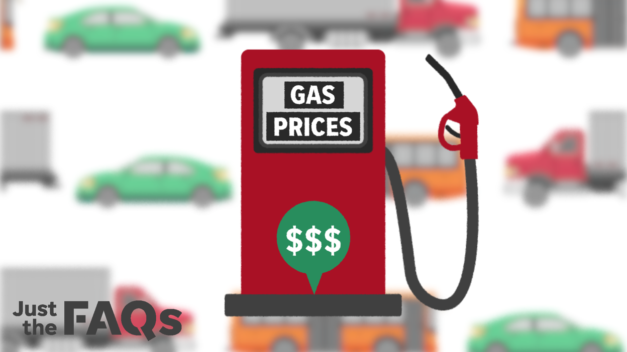 Gasoline prices usually fall this time of year as vacation season ends. So why are they jumping?