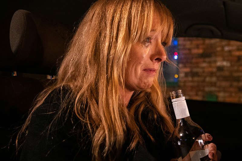 a woman holding a wine glass: Coronation Street has been confirmed as the most complained about programme on British TV for its frequent depictions of drugs, smoking and alcohol