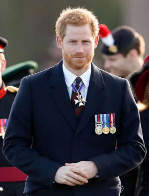Prince Harry wearing a suit and tie: Prince-Harry