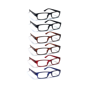 a close up of a logo: Boost Eyewear 6 Pack  practicing Glasses