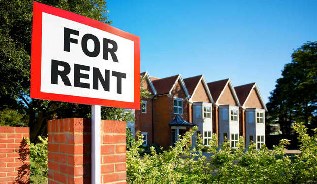 a sign in front of a brick building: Someone else said: 'I had to do that in 2014. This isn't a new phenomenon. Years of constant neglect and mismanagement of housing by successive governments. Tragic really.' Pic: Getty