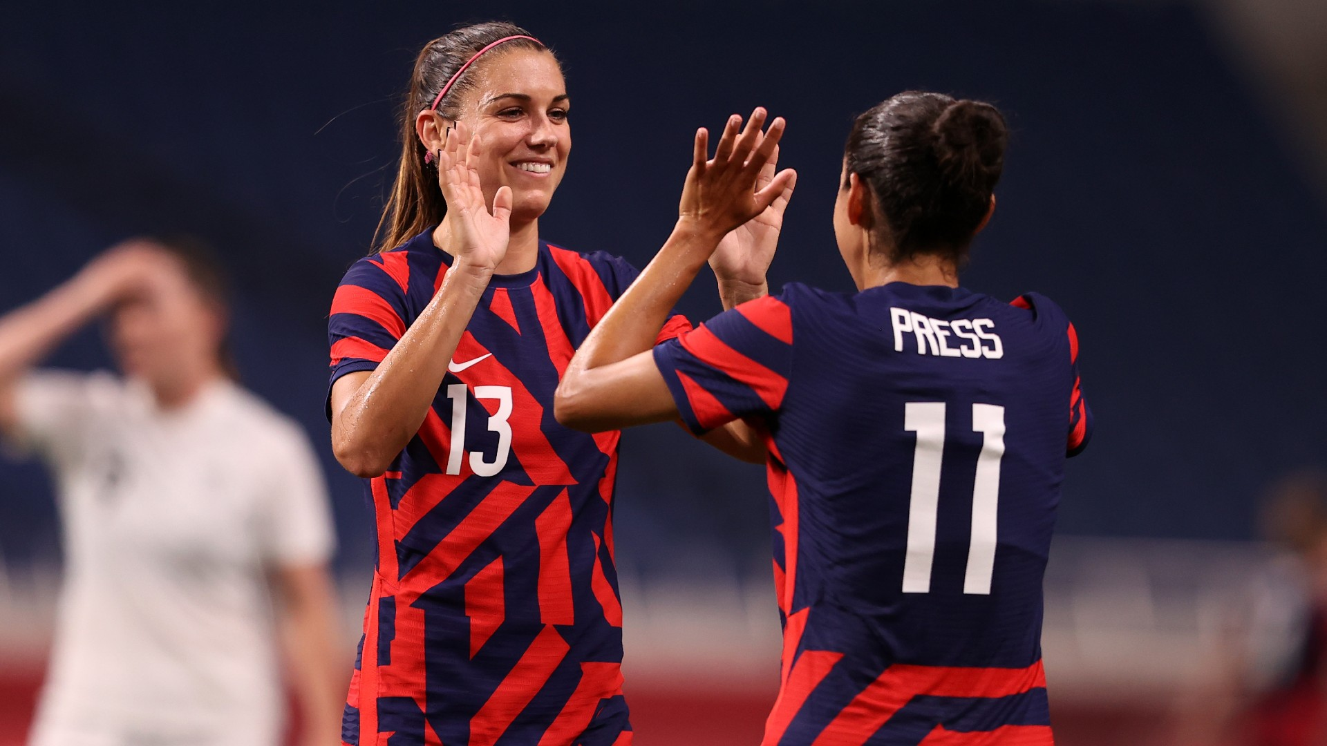 Tokyo Olympics: USA respond in style as hat-trick hero Banda ties record
