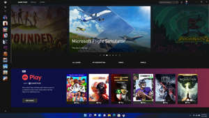 graphical user interface: Windows 11 Gaming