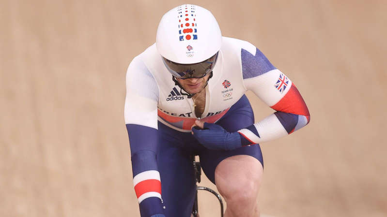 a person wearing a helmet: Jason Kenny is now Britain's most successful Olympian of all time