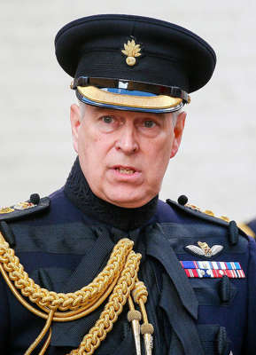 Prince Andrew, Duke of York wearing a hat: Prince Andrew's lawyers argue the court papers weren't served 'properly'. Pic: Rex
