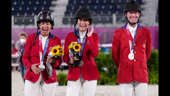 Glory days: Jessica Springsteen wins silver in her Olympic debut