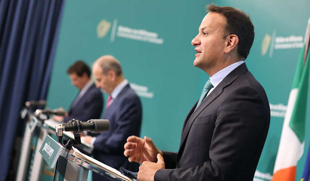 Leo Varadkar wearing a suit and tie: Mr Martin's term as Taoiseach ends in December next year, when Mr Varadkar is due to return to the top jobPic: Julien Behal