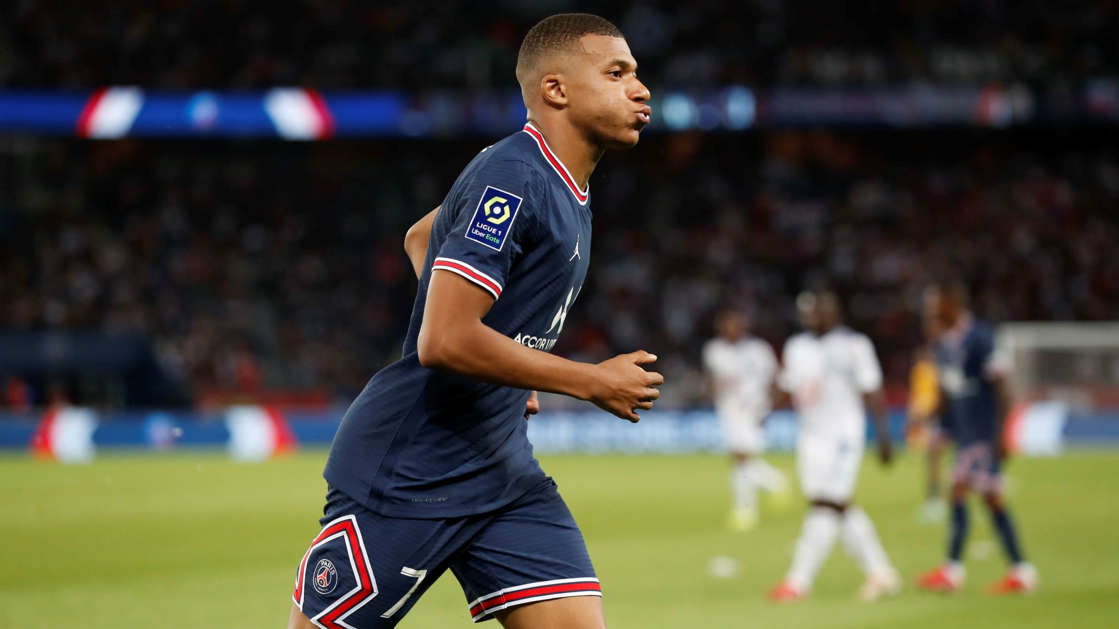 a football player on a field: PSG are ready to sell Mbappe   Catherine Steenkeste/Getty Images