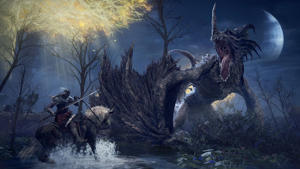 The world of Elden Ring has an assortment of monsters to fight. Bandai Namco Games and From Software