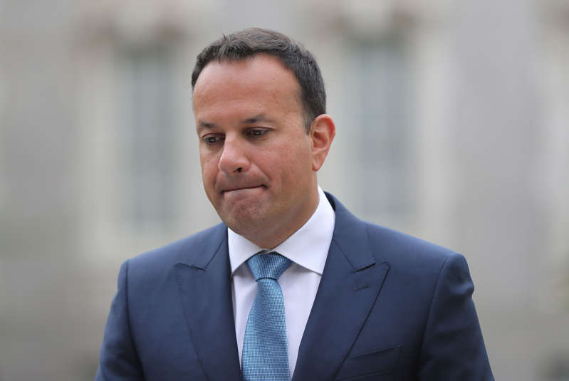 Tanaiste Leo Varadkar at Government Buildings in Dublin. (Photo by Niall Carson/PA Images via Getty Images)