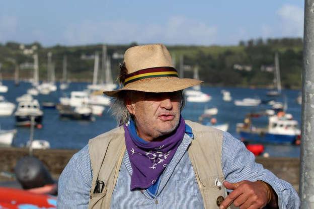 a man wearing a hat: Ian Bailey