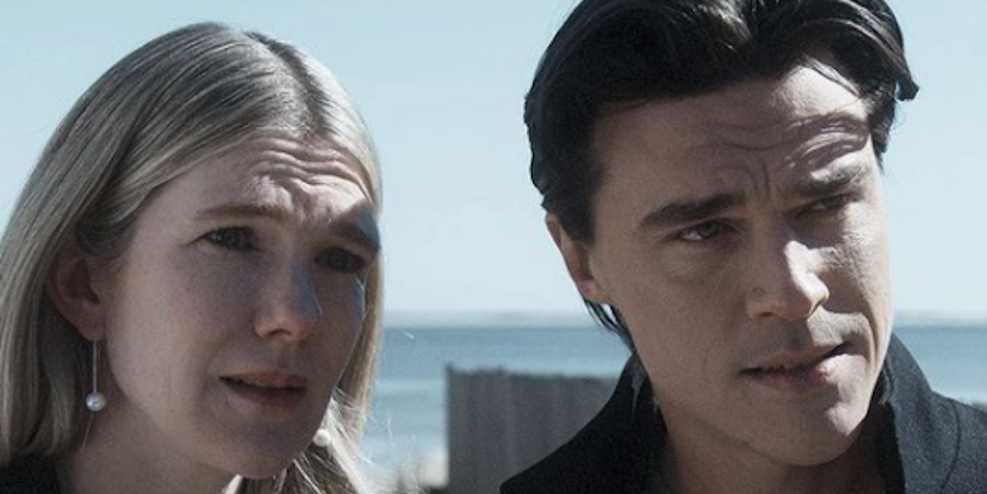 Lily Rabe, Finn Wittrock looking at the camera: New episodes of the horror anthology release every Wednesday at 10pm on FX.