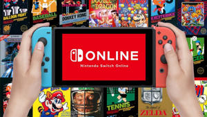 graphical user interface, website: Nintendo Switch Online NES and SNES game selection