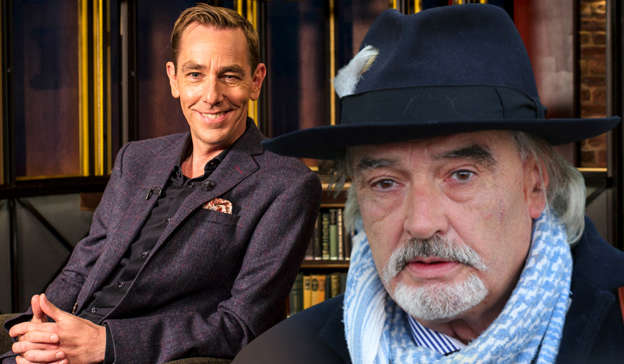 Ryan Tubridy, Ian Bailey are posing for a picture