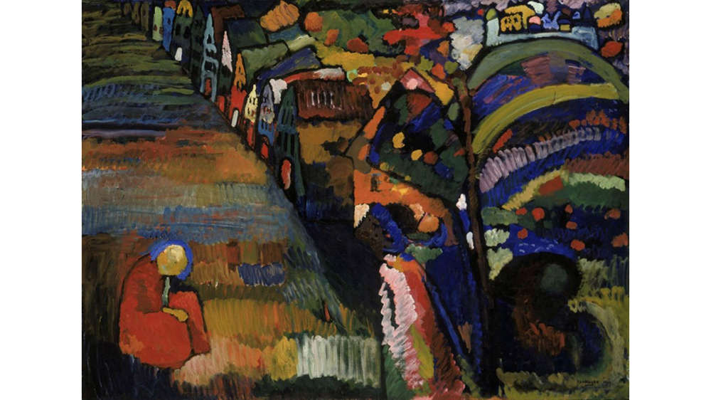 Wassily Kandinsky,Painting with Houses, 1909