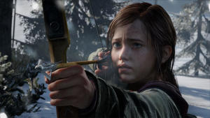 a woman holding a wine glass: The Last of Us Ellie