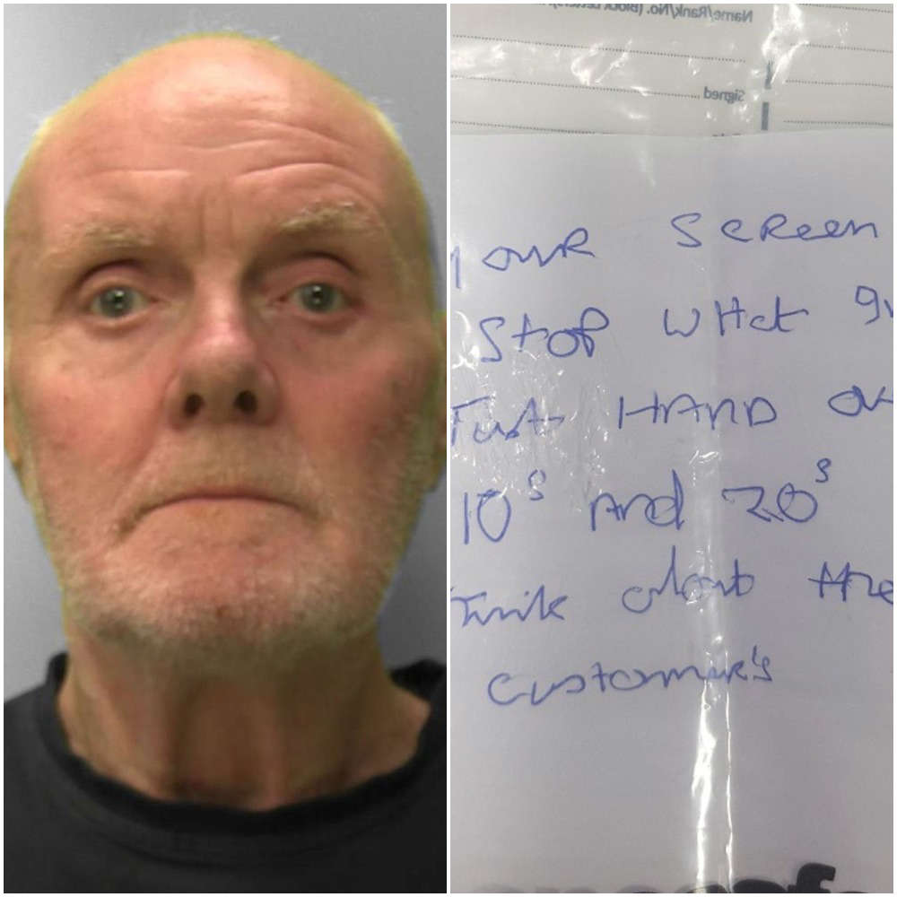 a man smiling for the camera: Due to Ian Slattery's poor handwriting, the employee at the bank he attempted to rob was unable to read the note and he left empty-handed.