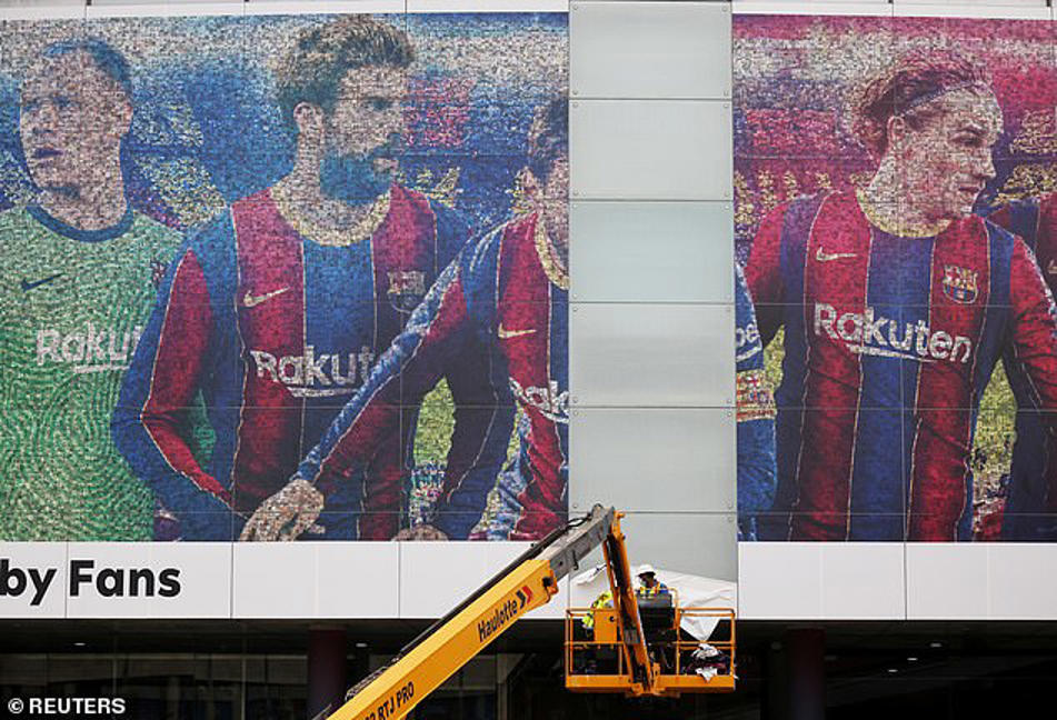 Barcelona sell HALF the tickets for first game without Lionel Messi