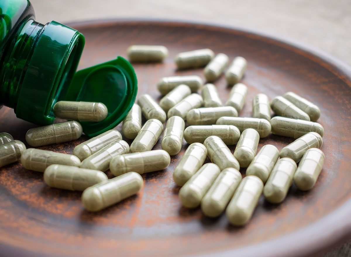 Slide 2 of 5: Green tea is more than just a pleasant addition to meals in its liquid form—as an extract, it can help you shed unwanted weight, too.Green tea, especially in extract form, is one of the most well-studied and supported weight loss ingredients and supplements, says Trista Best, MPH, RD, LD, a registered dietitian with Balance One Supplements. The combination of caffeine and catechins in green tea are the primary mechanisms that make it ideal for weight loss. Caffeine works to increase the body's speed at which it burns calories, thermogenesis. The catechins (EGCG) are plant compounds that act as antioxidants in the body which help to prevent and reduce free radical damage known to cause inflammation and ultimately stall weight loss.For more ways to slim down easily, check out the 200 Best Weight Loss Tips.