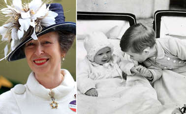 Anne, Princess Royal holding a baby: Princess Anne has just celebrated her 71st birthday and the British royal family are honouring her online. Royals including the Queen and Prince Charles took to social media to share their well wishes on the Princess Royal's special day.