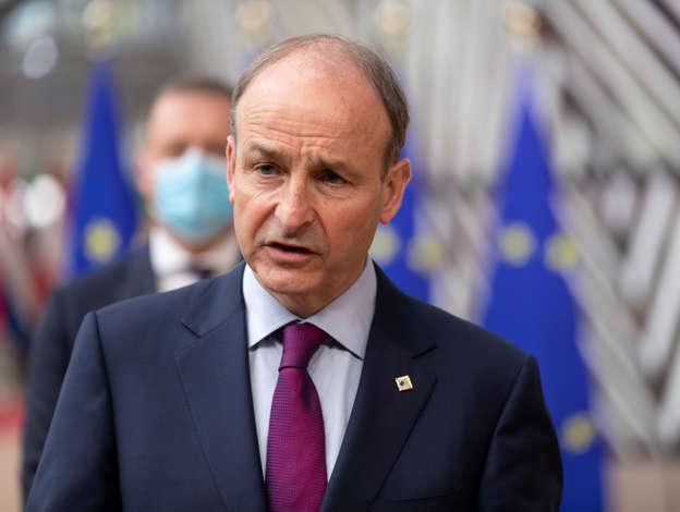 Irish Taoiseach (Prime Minister) Micheal Martin