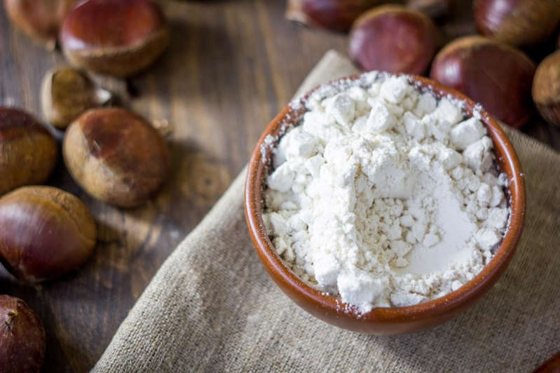 Our recipes with chestnut flour