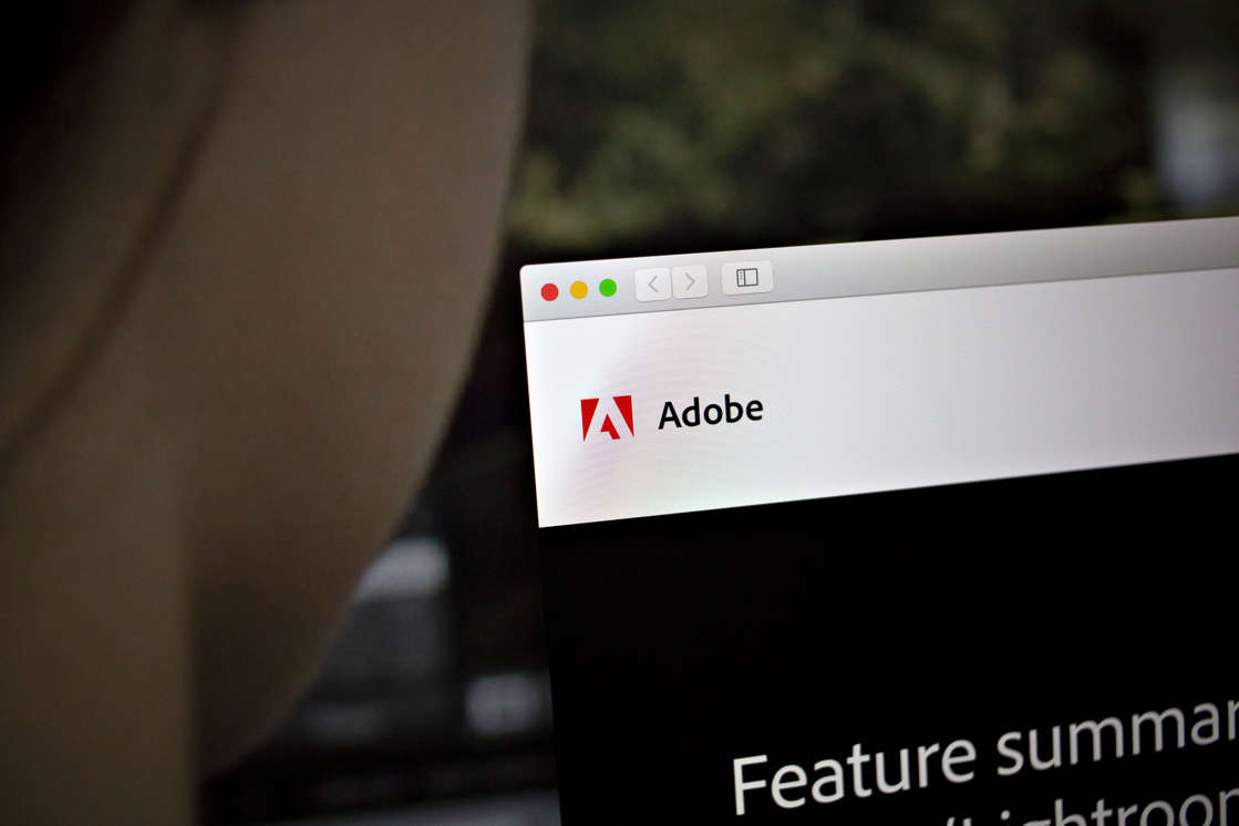 graphical user interface: Adobe Systems Inc. Software Ahead Of Earnings Figures