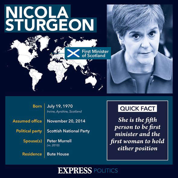 graphical user interface, website: Sturgeon profile: She took over as First Minister following the failed 2014 referendum