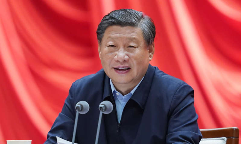 Xi Jinping wearing a suit and tie: An expert warned that Xi Jinping was building a broad populist agenda that will make his bid for a third term in power unstoppable.