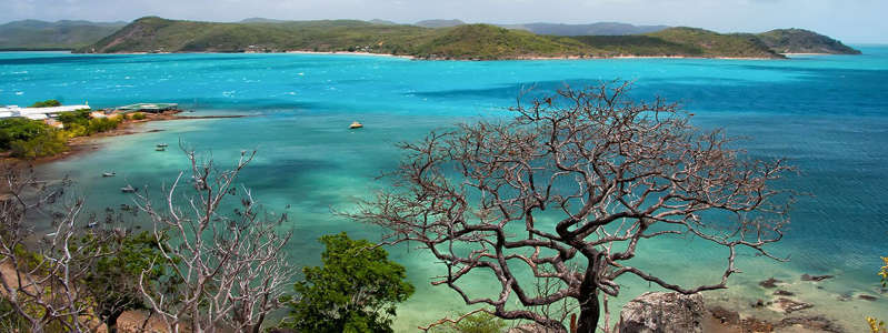 an island in the middle of a body of water: Thursday Island, Queensland, Australia (Shutterstock)