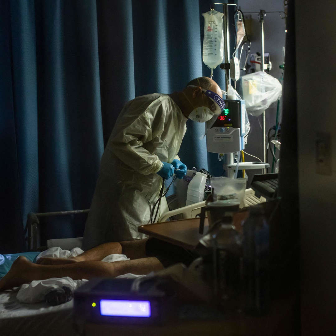 Average Daily COVID Deaths Jumped 131% in the Last Month, CDC Says AAO85BA