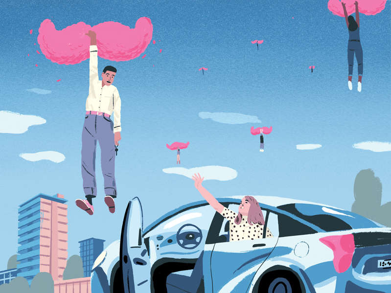 Lyft built a brand on being the nice gig work app clad in pink. Its drivers paint a different picture.