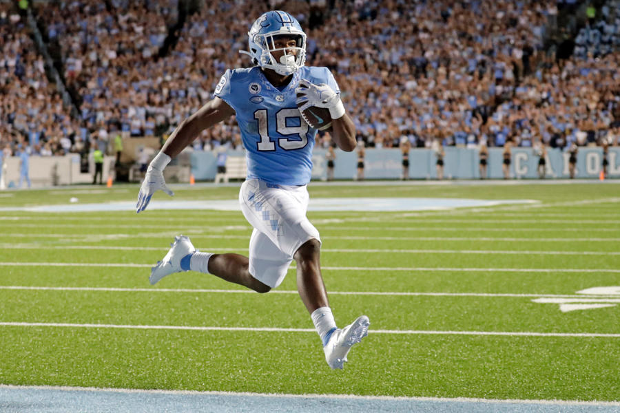 'We gonna run that thing': UNC back Ty Chandler's breakout game born from focus on details