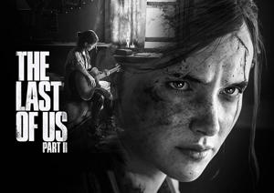 """Image shows the keyart for """"The Last of Us Part II"""". Naughty Dog"""