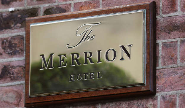 The luxurious 5-star Merrion Hotel plunged into the red last year. Pic: Brian Lawless/PA Wire