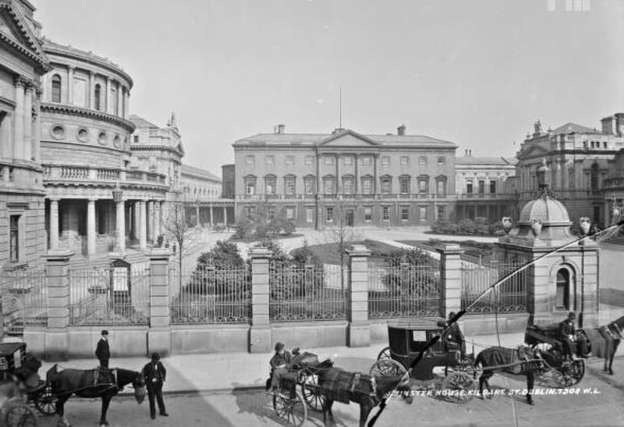 Leinster House 1865-1914. Photographer Robert French