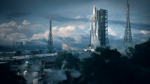 """The """"Battlefield 2042"""" beta will give players the opportunity to play Conquest matches in the Orbital map. EA Games"""