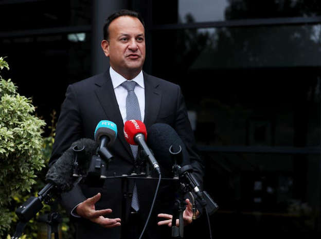 Leo Varadkar wearing a suit and tie: Tanaiste Leo Varadkar released a series of text messages between himself, Foreign Affairs Minister Simon Coveney and ex-minister Katherine Zappone (Brian Lawless/PA)