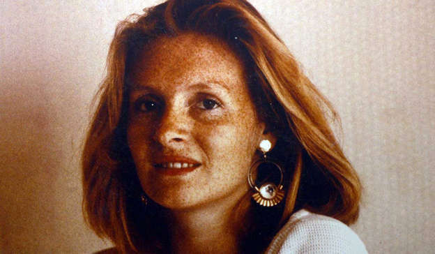 Death of Sophie Toscan du Plantier smiling for the camera: The former journalist emerged as the main suspect following the murder of Mrs Toscan du Plantier in Schull, west Cork in December, 1996. Pic: REX/Shutterstock
