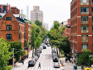 a view of a city street: Alexander Spatari/Getty Images