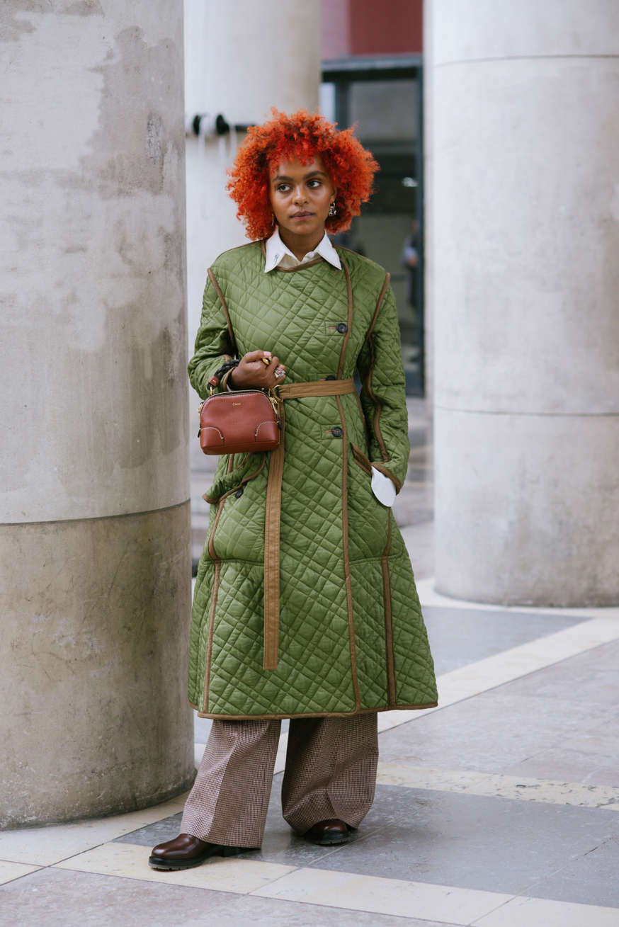 Street Style At Paris Fashion Week - Womenswear Spring Summer 2021: Day Four Crystal Murray during Paris Vanni Bassetti Spring-Summer 2021 Fashion Week