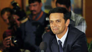Rahul Dravid wearing a suit and tie: Rahul Dravid appointed brand ambassador for Piramal Realty