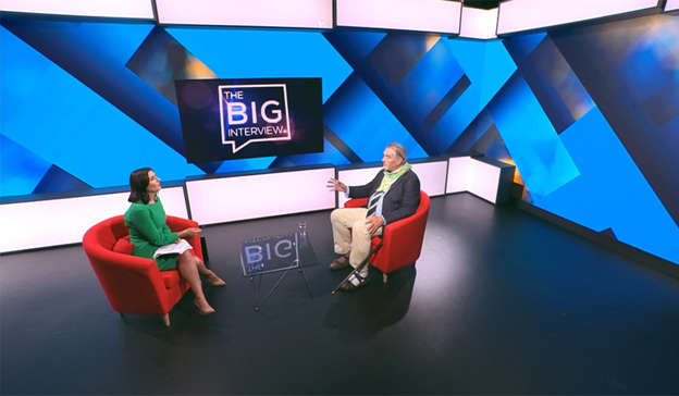 a screen shot of a person: Ian Bailey is set to sit down for an in-depth interview on Virgin Media One next week. Pic: Virgin Media Television