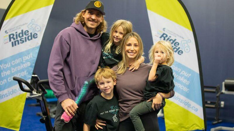 Blake Wheeler a payé la facture d'une jeune mère de famille mal prise à Winnipeg