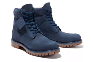 a pair of shoes: Timberland Premium 6-Inch Waterproof Boots