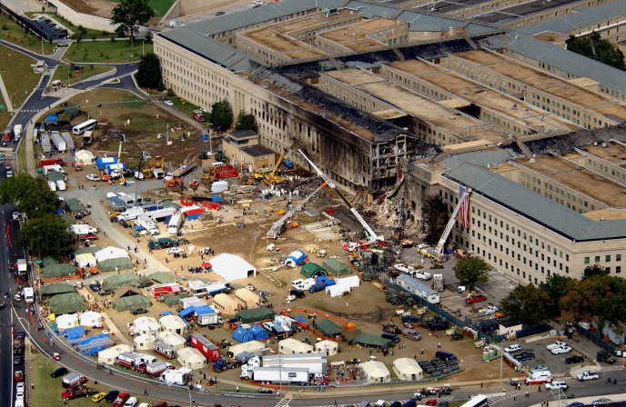 Since no cabin was found at the Pentagon crash site, some have the therefore argued that the impact was due to a missile launch.